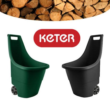 καρότσι κήπου – ξύλων keter easy go