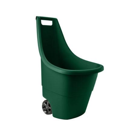 καρότσι κήπου keter easy go πράσινο