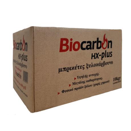 μπρικέτες biocarbon hx-plus