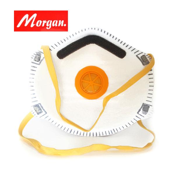 Μάσκα ενεργού άνθρακα με βαλβίδα MORGAN 2 τεμ. - Παπαθωμάς Α.   ΣΙΑ c886f39b114