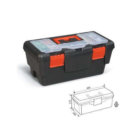 Εργαλειοθήκη port-bag ekono 16″