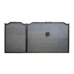 Προστατευτικό-Τζακιού-Γωνία-αριστερό-μπρονζέ